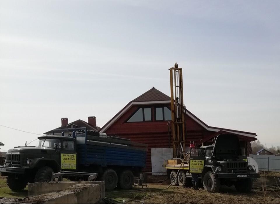 Бурение скважины на песок в д. Зяблицы (Глубина — 56 метров) — фото 3