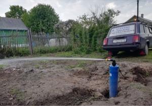 """Монтаж системы водоснабжения из скважины """"Летний вариант"""""""