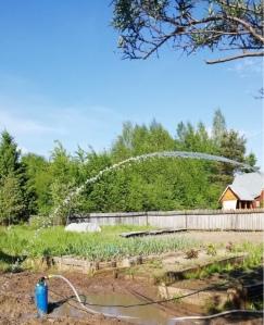 Монтаж системы водоснабжения из скважины - Летний вариант - фото 2