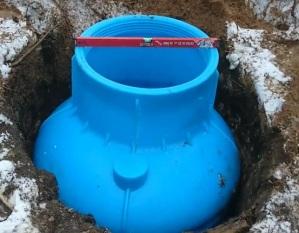 Работы по обустройству песчаной скважины