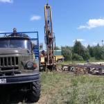 Бурение скв. на песок деревня Васьково