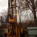 Процесс бурения скважины на воду в деревне Комарово, Некрасовский район 02