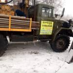 Буровая техника, БК-АкваЛайф, в процессе работы, поселок Кузьминка фото 01