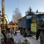 Бурение скважины в поселке Ивняки, Ярославская область фото 02