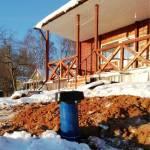 Установка адаптера и подведение воды к дому, город Кострома, работа компании БК-АкваЛайф