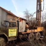 Бурение скважины, деревня Лучинское, глубина 65 метров, работа компании АкваЛайф